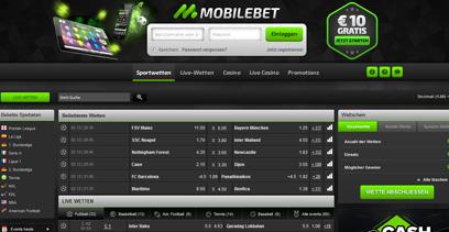 mobilebet webseite