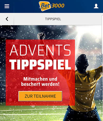 Bet3000 Advents-Tippspiel