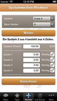 Wettbasis App Systemwetten Rechner