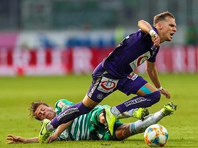 Rapid Wien gegen Austria Wien