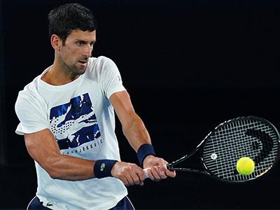 Djokovic (© imago images / AAP)