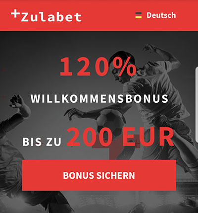 Zulabet Bonus