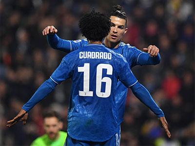 Ronaldo & Cuadrado (Juventus) © imago images / Xinhua