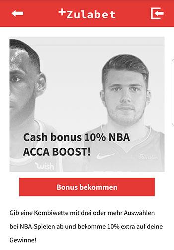 Zulabet NBA Boost