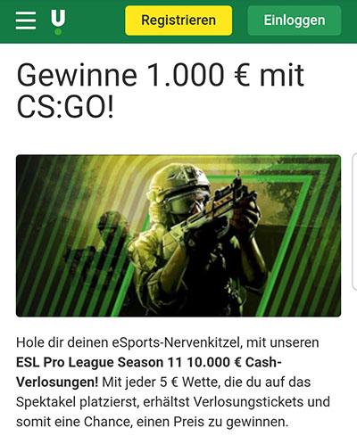 CS:GO Jackpot Unibet