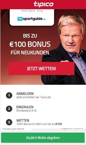 Tipico Bonus