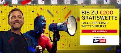 Skybet Sportwetten Bonus