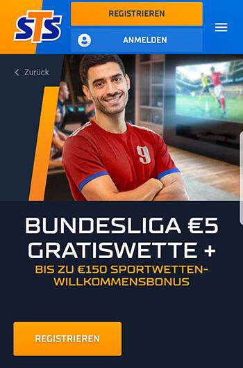 STS Bundesliga Gratiswette
