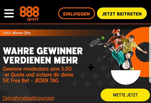 888sport Freebet