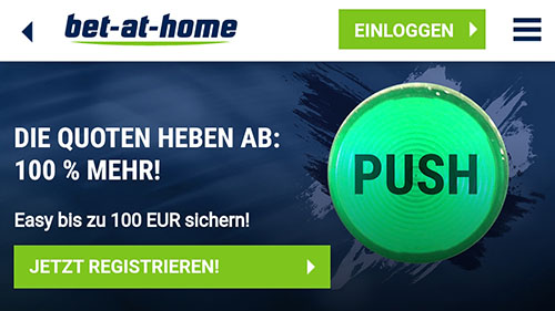 Bet-at-home Quotenboost