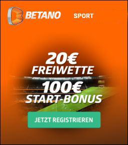 Betano Freebet ohne Einzahlung