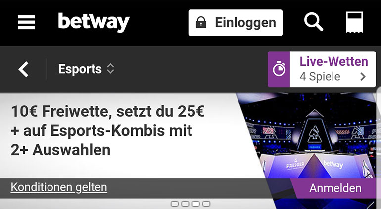 Betway eSports Club