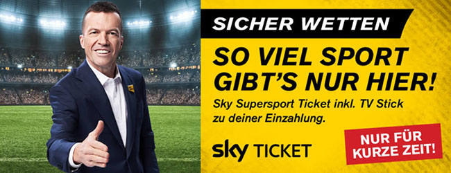Interwetten Sky Supersport Ticket