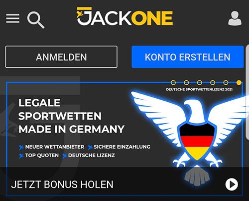 JackOne Lizenz