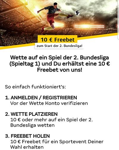 Merkur Sports Freebet