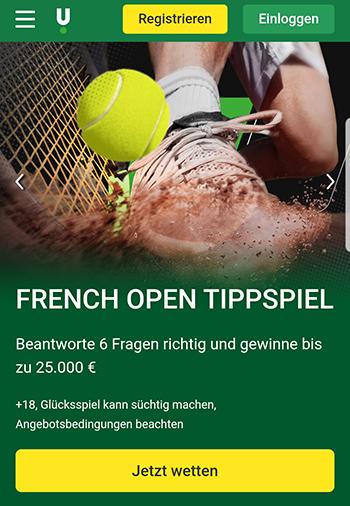 Unibet French Open Tippspiel