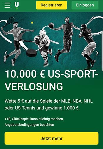 Unibet US-Sport Jackpot