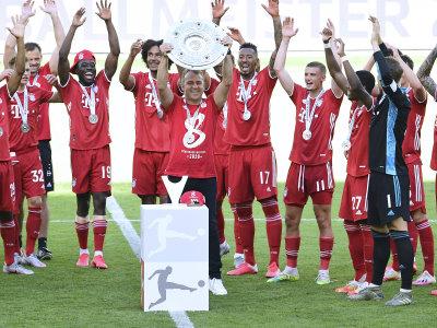 Bayern feiert die Meisterschaft