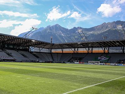 Wacker Innsbruck Stadion - Geisterspiel