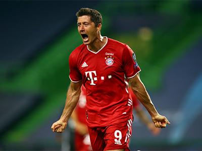 Lewandowski jubelt pour le Bayern