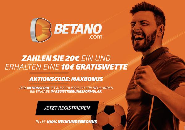 Betano Gratiswette
