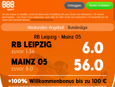 888sport Quotenboost