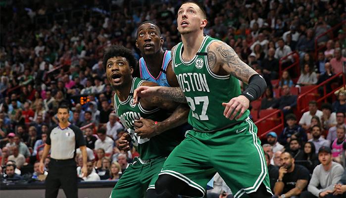 Konzentrierte Leistung von Theis bei Celtics vs. Heat?