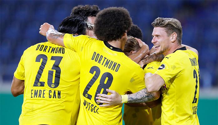 Dortmund jubelt im Team