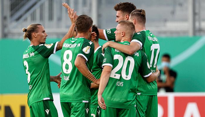 Jubelt Weydandt mit Hannover auch gegen Karlsruhe?
