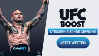 Ohmbet UFC Quotenboost