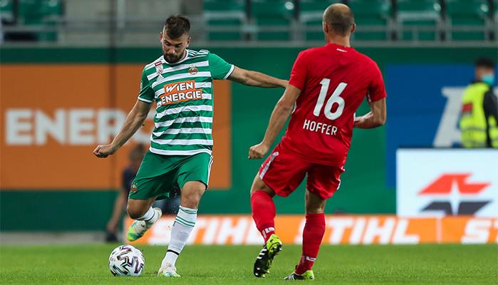 "Siegt Stojkovic mit Rapid bei Gent?"" title=""Siegt Stojkovic mit Rapid bei Gent?"