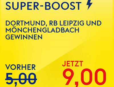Skybet Super-Boost für die Bundesliga