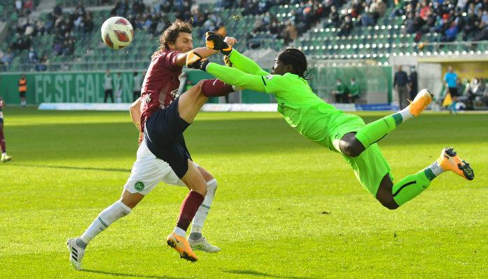 Bleibt Zigi im Kasten von St. Gallen gegen Luzern erneut ohne Gegentor?