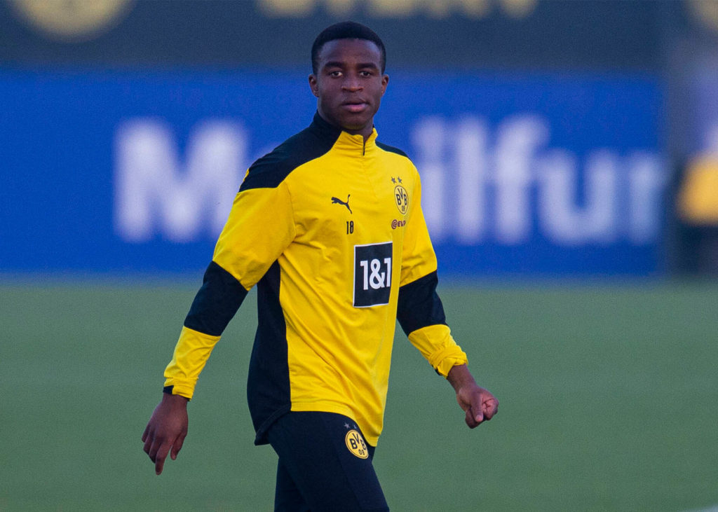 Moukoko Debüt bei Hertha BSC - BVB