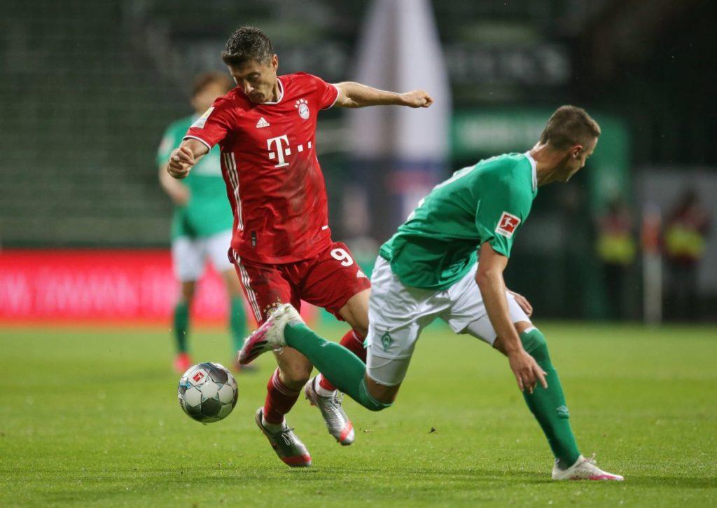 Sorgt Lewandowksi für den nächsten Sieg der Bayern gegen Werder Bremen?