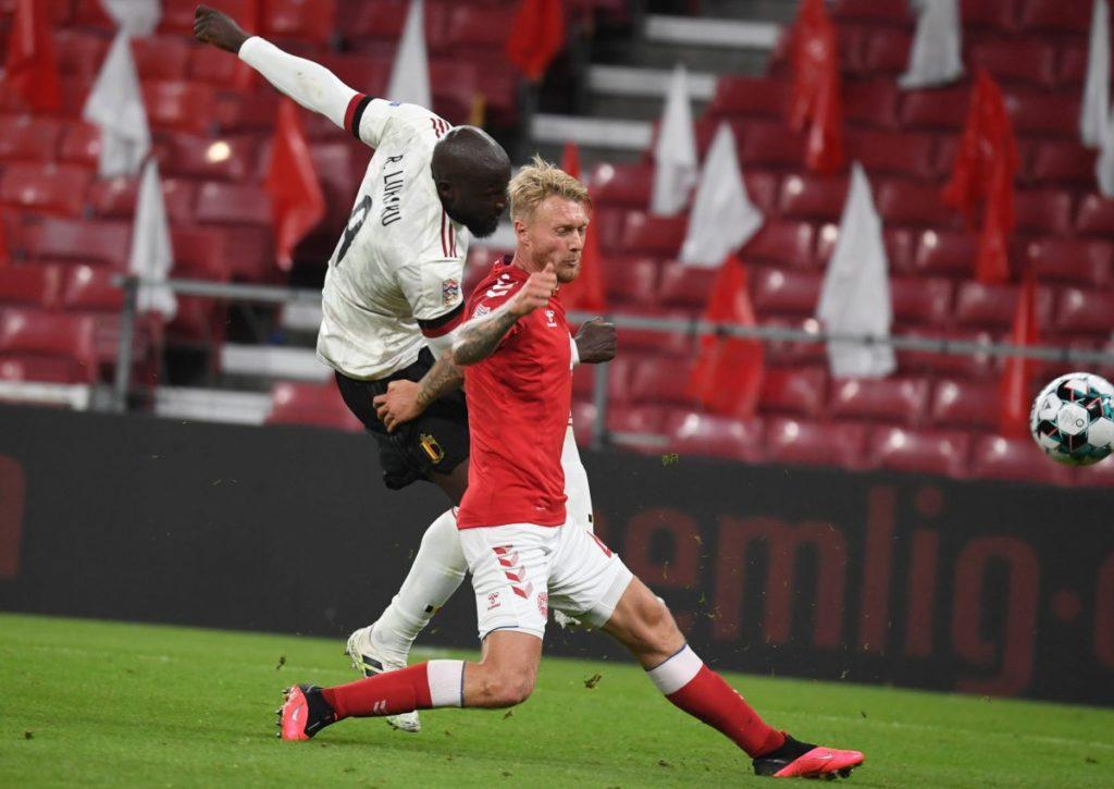 Setzt sich Lukaku mit Belgien erneut gegen Kjaer's Dänemark durch?