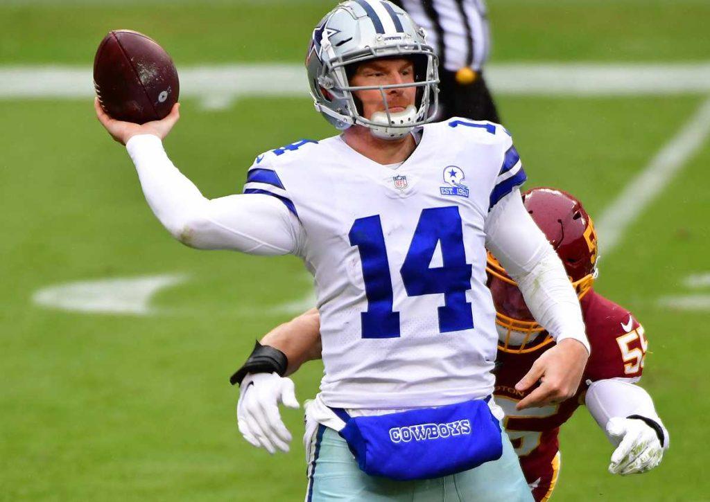 Dallas Cowboys Washington Football Team Tipp