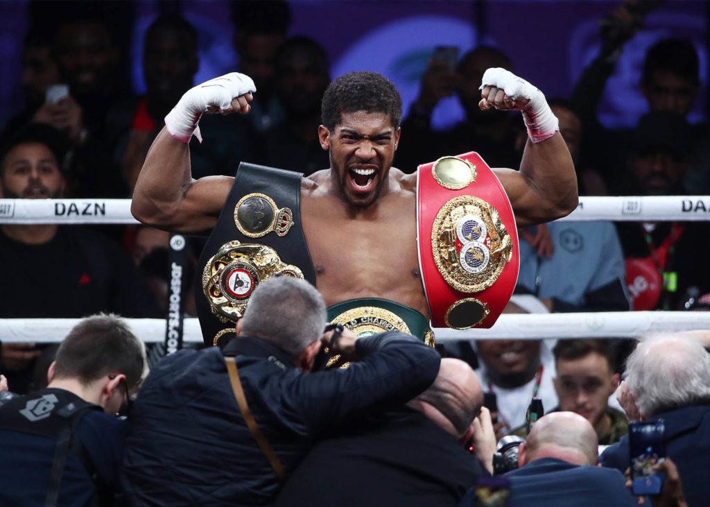 Boxkampf Joshua vs. Pulev