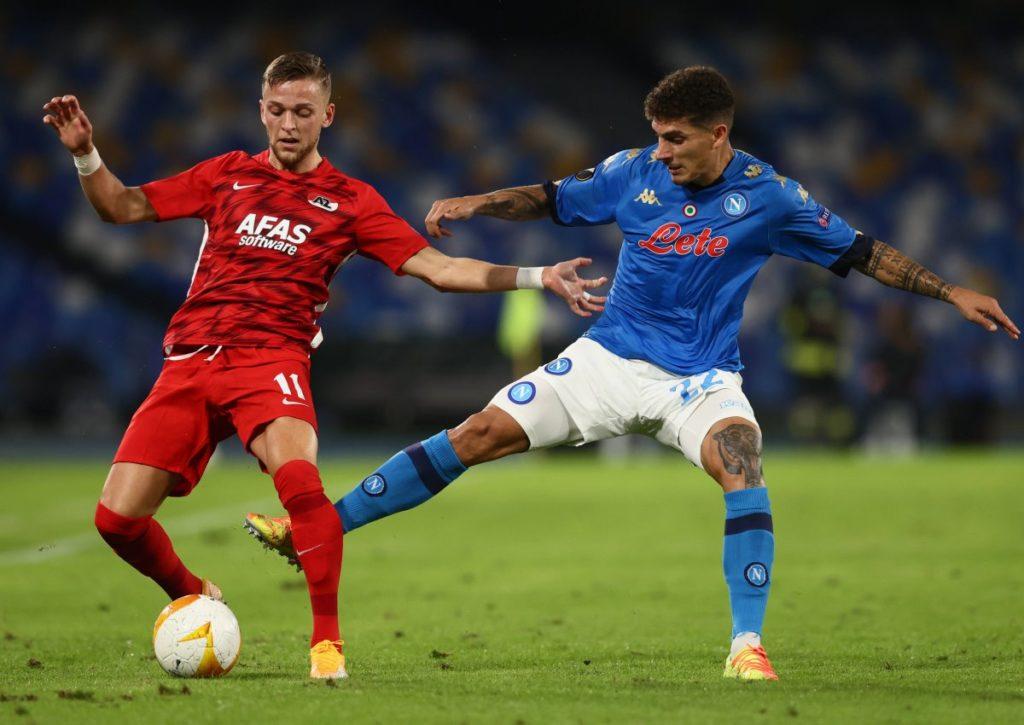 Zieht Alkmaar mit einem Sieg an Neapel vorbei?