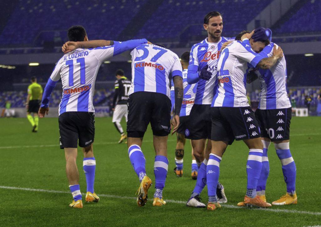 Hat Neapel bei Udinese wieder Grund zum Jubeln?