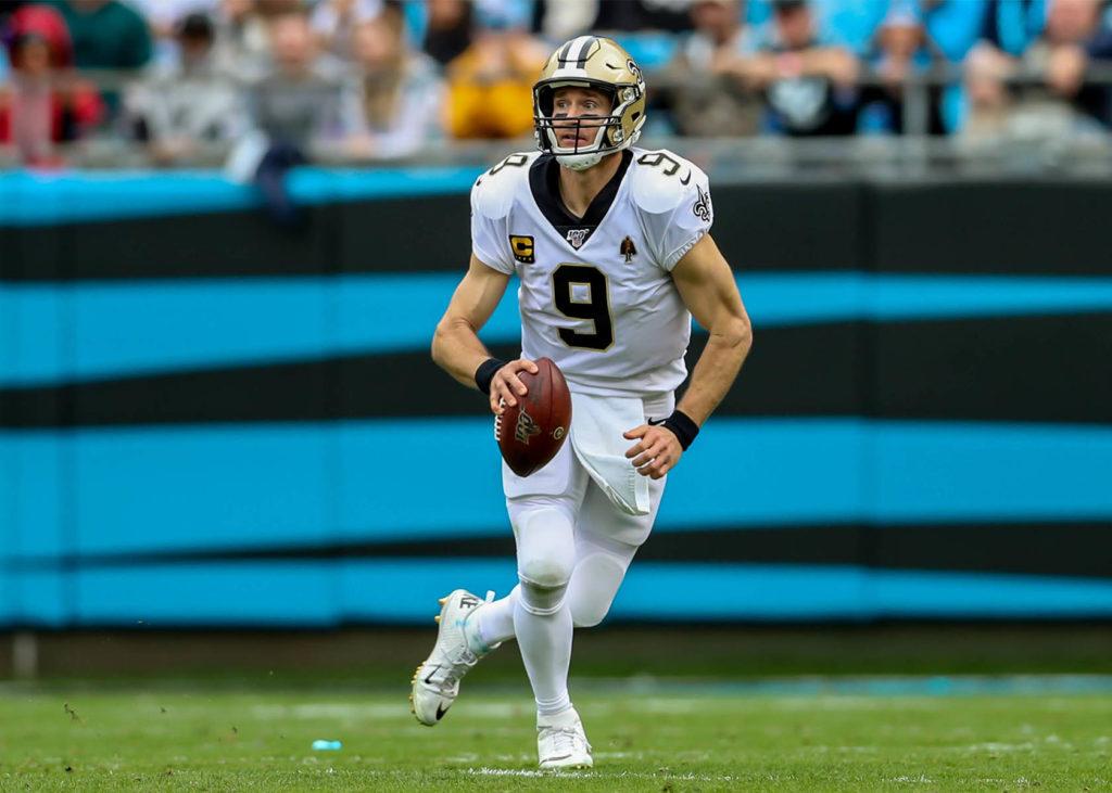 NFL Playoffs 2021 mit den New Orleans Saints um Drew Brees