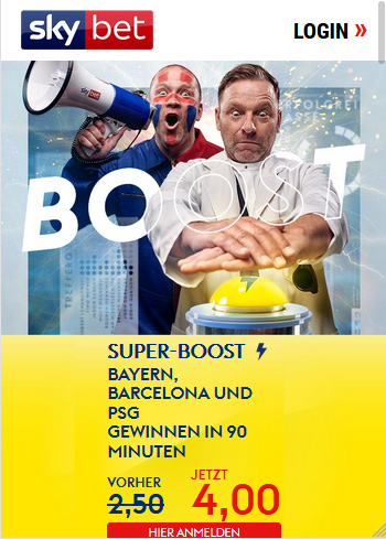 Skybet Quoten Boost