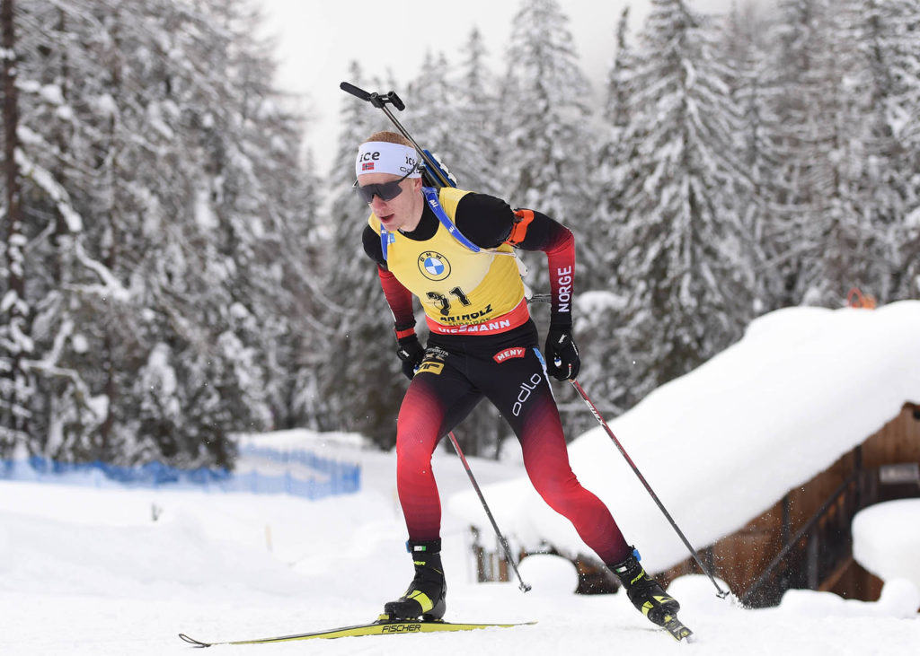 Biathlon WM 2021 mit Johannes Thingnes Boe