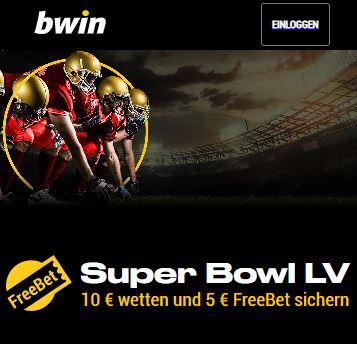 Bwin Super Bowl Freebet