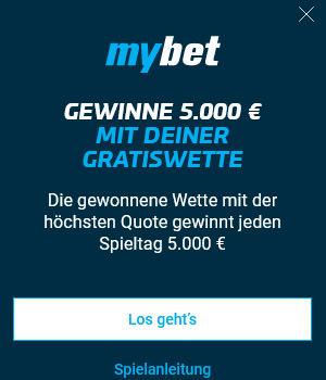 Mybet Bonus für Bestandskunden