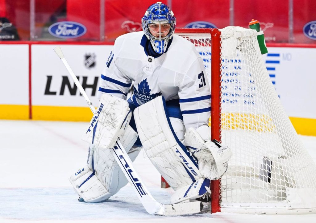 Feiern Goalie Andersen und die Maple Leafs gegen die Flames einen souveränen Sieg?