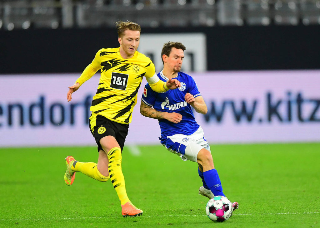 Marco Reus bei Schalke - BVB