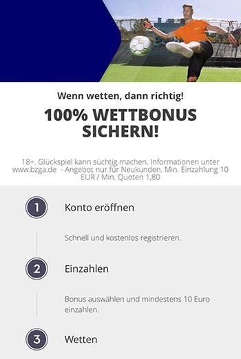 Betsson 100€ Bonus