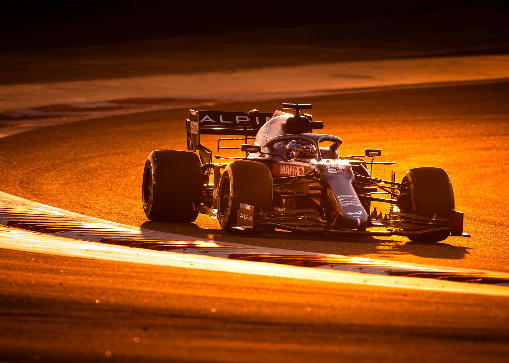 F1 Saisonstart mit Fernando Alonso