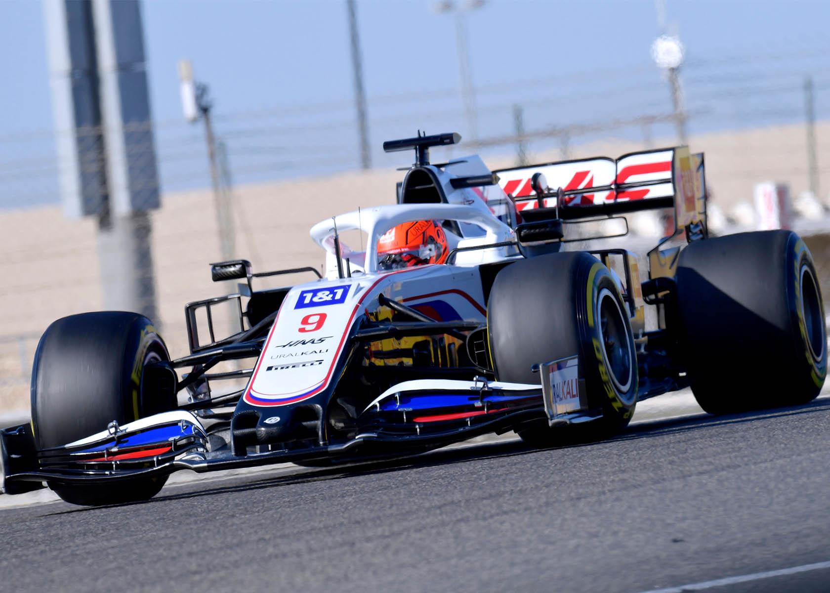 Formel 1 Saisonstart mit Nikita Mazepin